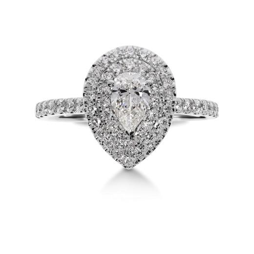La Pera II Diamantring