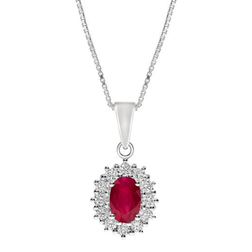 Magnifico Neo Anheng - Rubin og Diamant