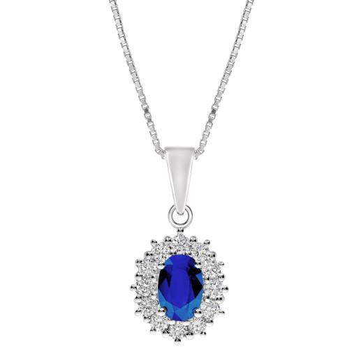 Magnifico Neo Anheng - Safir og Diamant