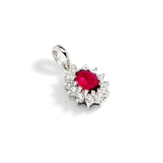 Magnifico Anheng - Rubin og Diamant