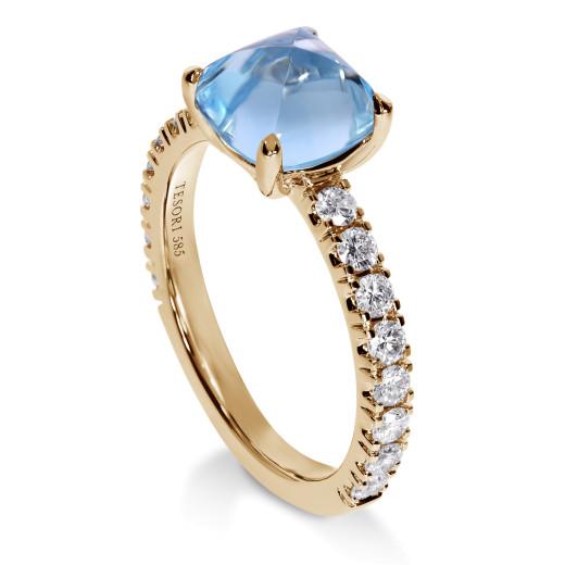 Verona Topas Diamantring