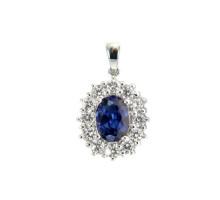 Magnifico Anheng III Safir og Diamanter