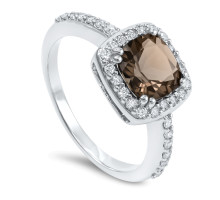 Marrone Diamantring