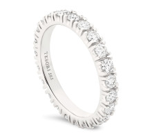 Moderna Eternity Diamantring
