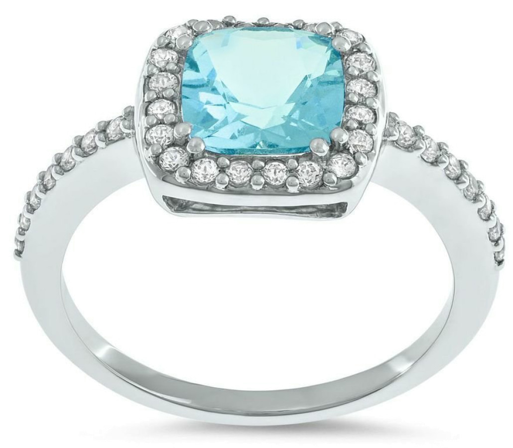 Azur Diamantring