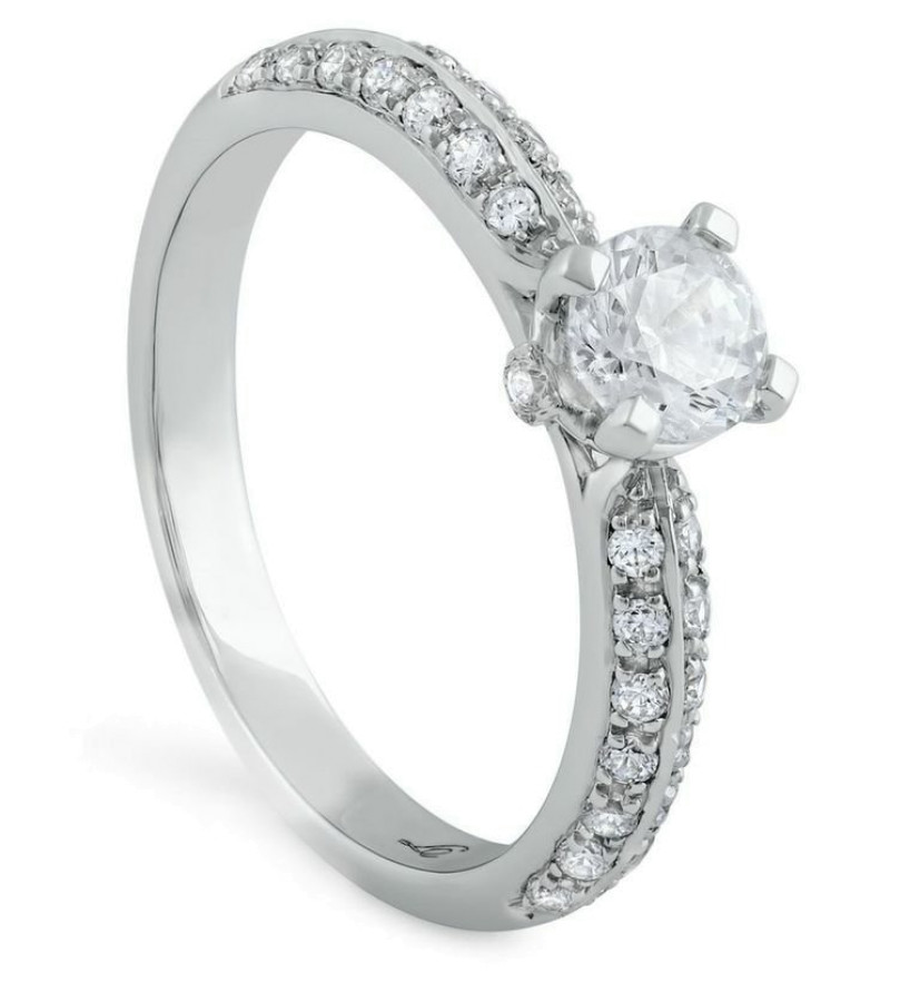 Sogno Diamantring 0,70ct TW/VS