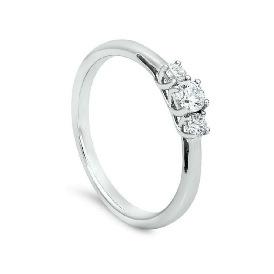 Trio Diamantring 0,25ct