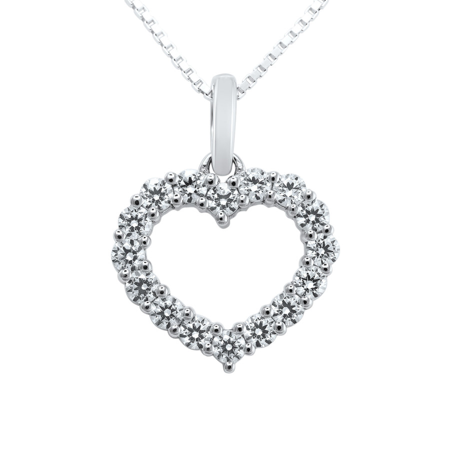 Cuore Diamanthjerte 0,16ct