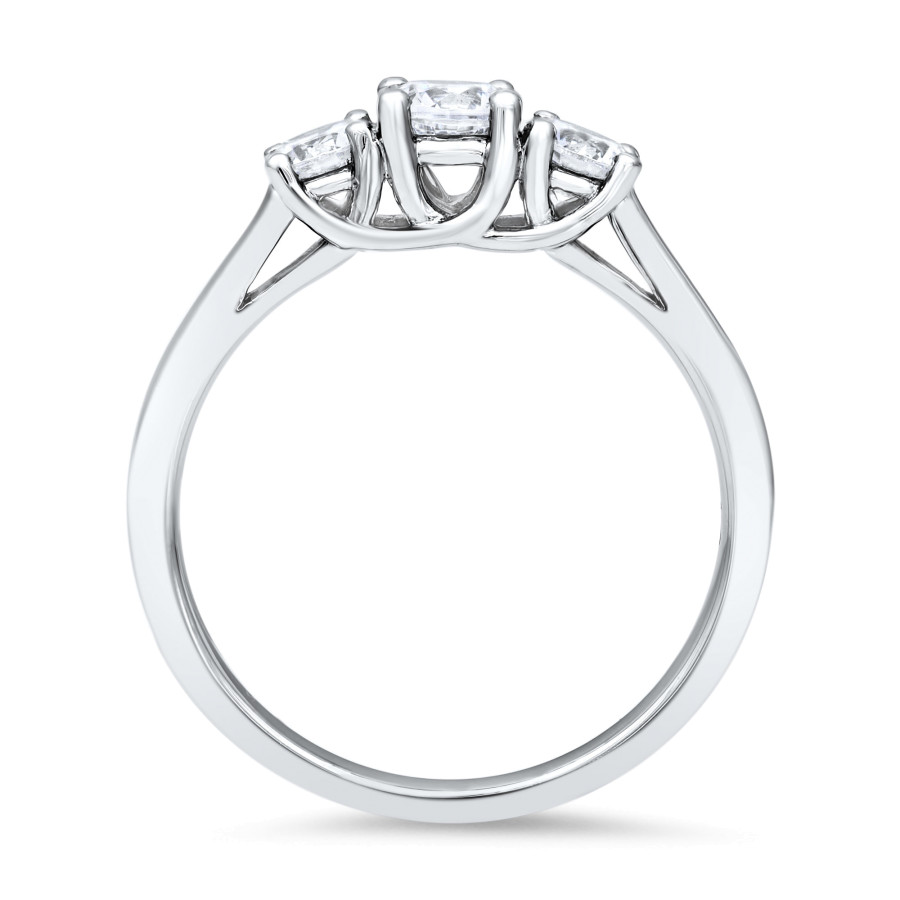 Trio Diamantring 0,80ct