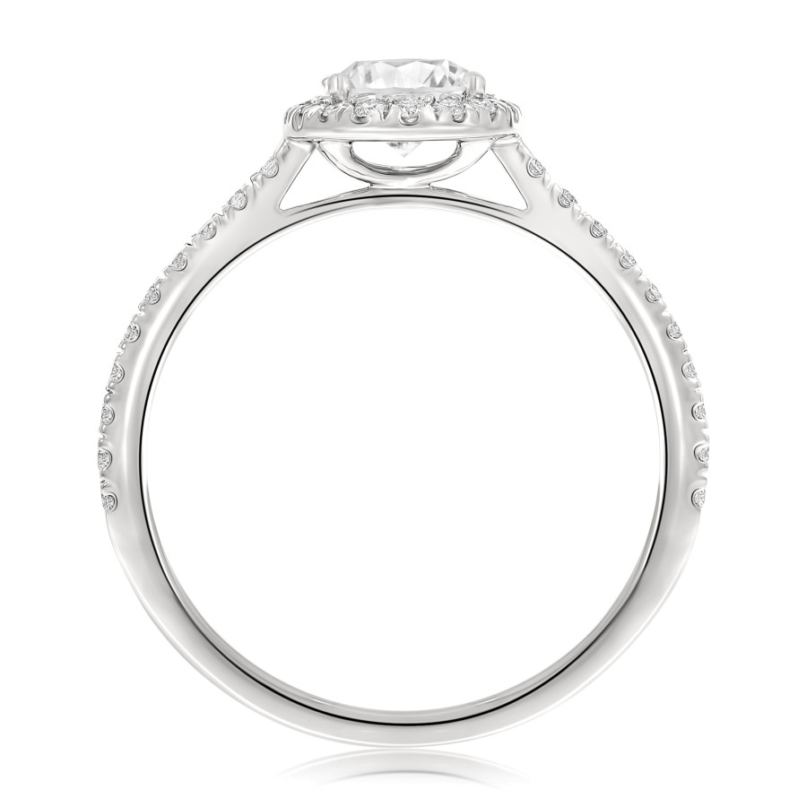 Uovo oval diamant
